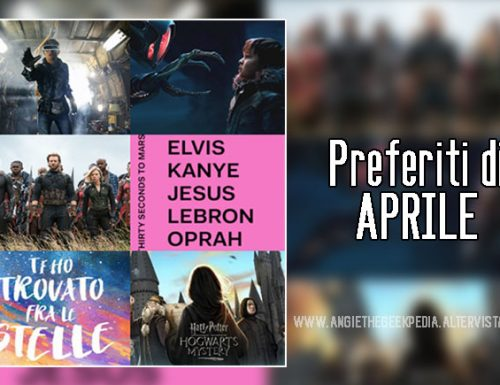 Aprile 2018 – Best of the Month