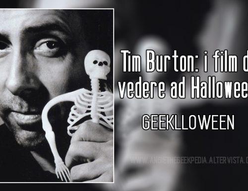 Tim Burton: i film da vedere ad Halloween.
