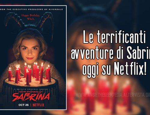 Le terrificanti avventure di Sabrina oggi su Netflix!