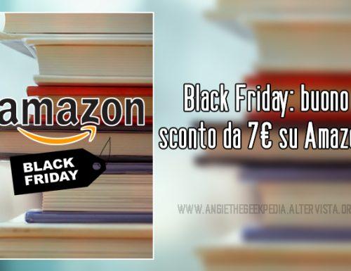 Black Friday: buono sconto da 7€ su Amazon.